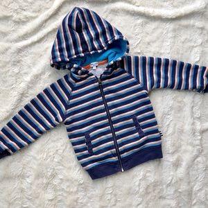 Splendid striped hoodie, 18-24 months